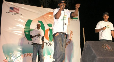 Die Hip Hop Gruppe Black Daps in Niamey (c) USGovernment, EmbassytoNiger