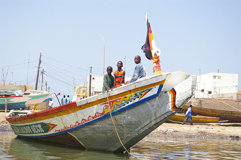 Fischerboot in Senegal (c) FINN