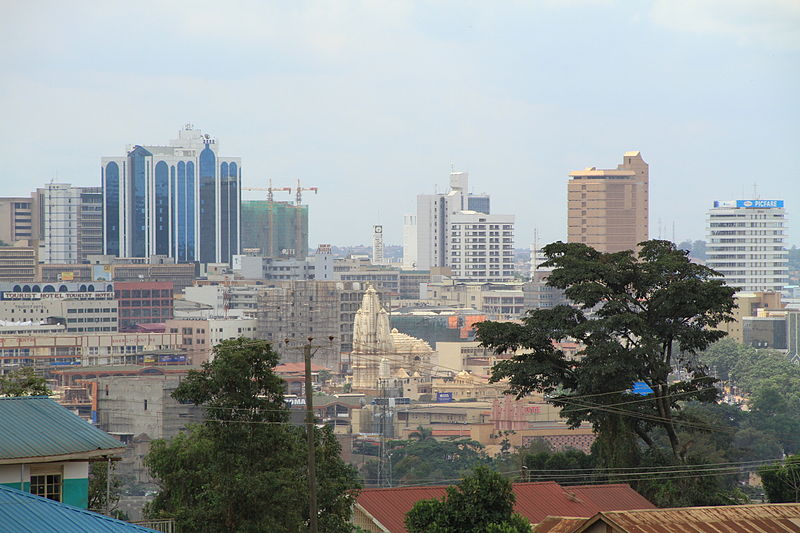 Kampala Skyline (c) Andrew Regan